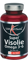 Lucovitaal Super Visolie Omega 3-6 - 150 capsules - Voedingssuplementen
