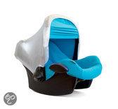 Sibble voor Maxi Cosi - Regenhoes ColorCap - Zilver/Blauw