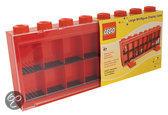Lego Figuren Vitrine Groot - Rood