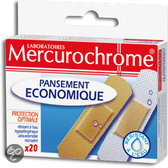 Mercurochrome Economisch - 20 stuks - Kinderpleister