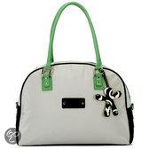 Little Company - Today PopUp Shoulder Bag Round Luiertas - Groen/Zwart
