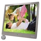 Hama DPF-97 Premium - Digitale Fotolijst - 9,7 inch (24.6cm) - Roestvrijstaal