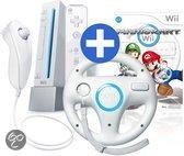 Nintendo Wii Voordeelbundel Wit + Mario Kart + Stuurtje