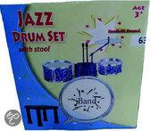 Jazz Drumset met Stoel
