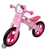 Base Toys Houten Loopfiets Hello Kitty