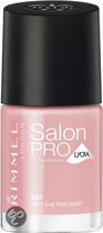 Rimmel London Salon Pro With Lycra - 247 Isn't She Precious? - Roze - Nagellak