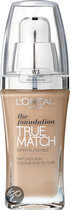 LOral Paris True Match - W3 Golden Beige - Foundation