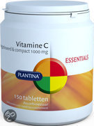 Plantina Vitamine C 1000 mg - 150 Tabletten - Vitaminen