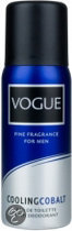 Vogue Men Cooling Cobalt - 150 ml - Deodorant