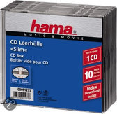 Hama Cd Slim Box - 10 stuks