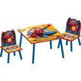 Tafel met 2 stoelen Spiderman