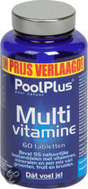 Pool Plus Multivitaminen - 120 Tabletten - Multivitamine