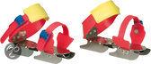 Nijdam Junior Glij-ijzers Verstelbaar - Schaatsen - Uni - Maat 24-34