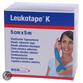 Leukotape K - Elastische Tape - 5 m x 5,0 cm - Blauw