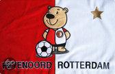 Feyenoord Kussen - Beer - Rood / Wit