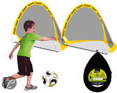 SportX Pop-up Voetbalgoal Set
