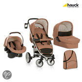 Hauck - Malibu XL All in One Kinderwagen - Toast/Black