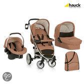 Hauck - Malibu XL All in One Kinderwagen - Toast/Black