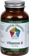 Essential Organics® Vit D3 15µ- 90 Tabletten - Vitaminen