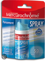 Mercurochrome Spray Verband Pleister