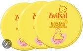 Zwitsal - Zachte Creme Pot - 3 x 200 ml - Voordeelverpakking