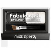 Miss Sporty Fabulous Gel - Zwart Eyeliner