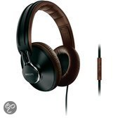 Philips CitiScape SHL5905BK - Over-ear koptelefoon - Zwart/Bruin