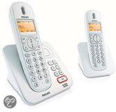 Philips CD2552S Duo DECT telefoon met antwoordapparaat