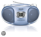 Philips AZ105N CD Soundmachine - Blauw