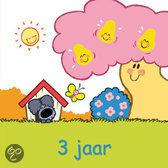 Woezel & Pip - 3 Jaar - Wenskaart