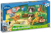 Disney Puzzel Wide Screen Animal