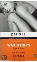 Parissa Legs & Body - 16 stuks - Wax Strips
