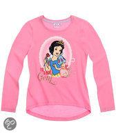 Disney Princess Meisjesshirt - Donkerroze - Maat 128