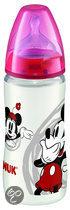 NUK First Choice - Voedingsflessen Mickey, 3 stuks