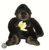 Nicotoy Gorilla met banaan (25cm) - Knuffel