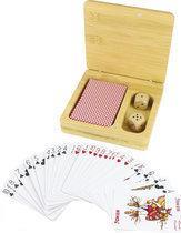 Bamboo Speelkaarten met Dobbelstenen