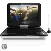 Philips PD9015 - Portable DVD-speler en TV - Zwart