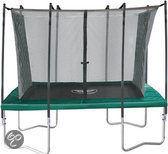Jumpline Veiligheidsnet Trampoline Rechthoek - 290x175 cm - Groen