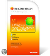 Microsoft Office Home And Student 2010  Nederlands 1 user download/PKC