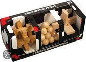 Brain Busting 3x Houten Puzzel