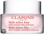 Clarins Multi-Active Day Early Wrinkle Correction Cream-Gel Normal To Combination Skin - 50 ml - Dagcrème