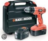 Black & Decker Accuboormachine EPC18CABK - 18V 1,0 Ah NiCd - Incl. koffer en 2e accu