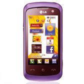 LG KM570 - Prism Violet (Metallic Purple)