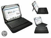 Bluetooth Keyboard Case, Toetsenbord Deluxe voor Trekstor Surftab Ventos 10.1, Zwart, merk i12Cover