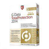 G DataTotalProtection 2014 - Nederlands / 3 Pc's / 1 Jaar (Download)