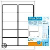 Herma printeretiketten Labels white 96x50,8 SuperPrint 1000 pcs.