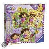 Dora puzzel 3 in 1