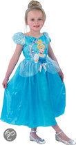 Prinsessenjurk Assepoester Storytime - Kostuum - Maat 122-128