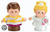 Fisher-Price Little People Assepoester en de prins