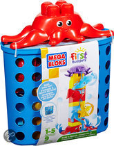 Mega Bloks First Builders Build 'n Splash Badspeelgoed